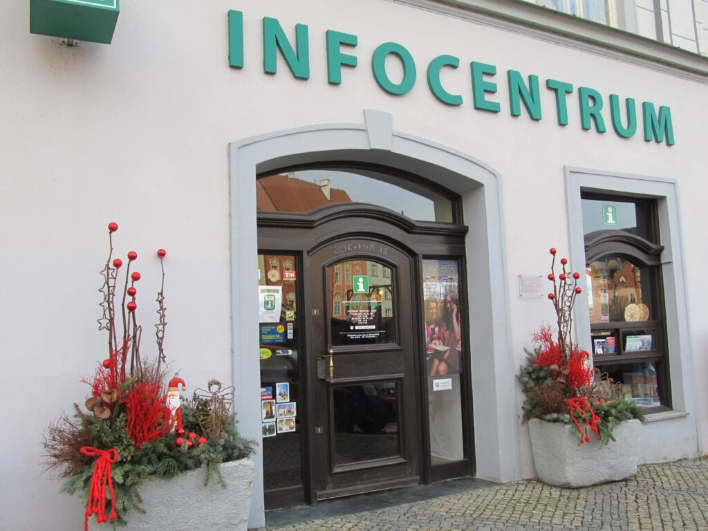 Foto infocentrum - vchod
